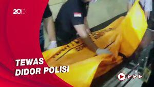 Jenazah Penyerang Mabes Polri Tiba di RS Polri