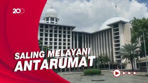 Masjid Istiqlal Sediakan Parkir Bagi Jemaat Misa Jumat Agung