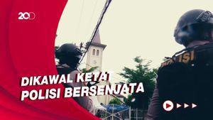 Gereja Katedral Makassar Gelar Misa Tertutup dengan Pengawalan Ketat