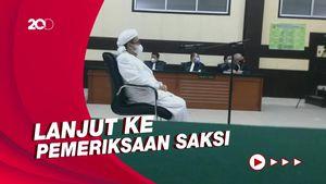 Hakim Tolak Eksepsi HRS soal Kasus Kerumunan