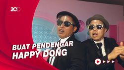 Sandhy Sondoro dan Narji Bikin Grup Musik Double Dobol