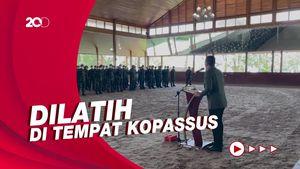 Prabowo Bentuk Pasukan Khusus Pengawal Khusus di Kemhan