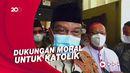 Said Aqil Kunjungi Lokasi Bom di Katedral Makassar