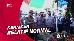 Plt Gubernur Sulsel Pastikan Harga Bahan Pokok Jelang Ramadhan Stabil