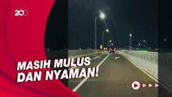 Sensasi Jajal Flyover Tapal Kuda yang Digadang Atasi Kemacetan