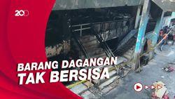 Curhat Pedagang Pasming Usai Kebakaran: Stok Lebaran Ludes!