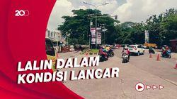 Jalan Boulevard Grand Depok City Ambles, Contraflow Diberlakukan