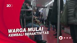 Tak Lagi Zona Merah, Warga Milan Mulai Bergeliat
