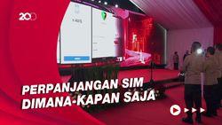 Kapolri Resmikan Aplikasi Perpanjangan SIM Secara Online