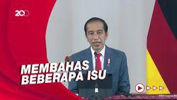 Jokowi-Kanselir Jerman Gelar Pertemuan Bilateral Secara Virtual
