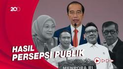 Ini Daftar Menteri Layak Reshuffle Versi Survei