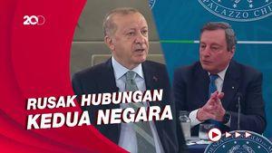 Disebut Diktator oleh PM Italia, Erdogan: Sangat Tidak Sopan!