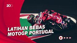Bagnaia Tercepat di FP2 MotoGP Portugal, Marquez Keenam