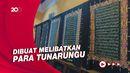 Intip Pembuatan Al-Quran Batik yang Dikerjakan Para Tunarungu