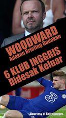 Ed Woodward Adakan Briefing Dadakan, 6 Klub Liga Inggris Didesak Keluar