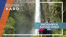 Tajam Seperti Pisau, Hembasan Air Terjun Sipiso-piso, Karo Sumatera Utara
