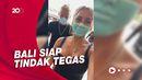 Viral Bule di Bali Kelabui Petugas dengan Melukis Masker di Wajah