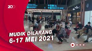 Penampakan Suasana Bandara Soetta Jelang Larangan Mudik