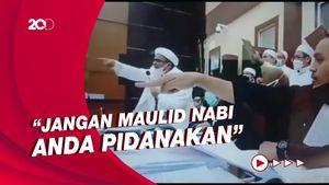 Panas! Habib Rizieq Debat Jaksa: Anda Memidanakan Maulid Nabi!