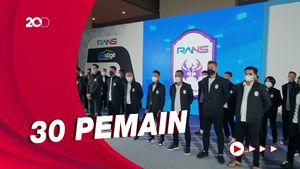 Raffi Ahmad Kenalkan Pemain RANS Cilegon FC, Targetkan Masuk Liga 1