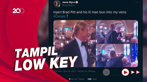 Brad Pitt dan Rambut Cepolnya yang Menarik Perhatian