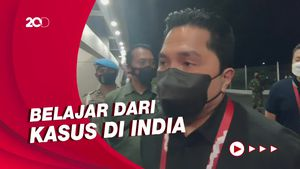 Liga Satu Siap Digelar, Erick Thohir: Jangan Sampai Lupakan Prokes