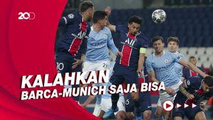 Jago Tandang, PSG Bisa Jungkirkan City di Etihad?