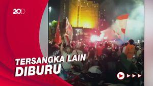 Polisi Tetapkan Tersangka Kasus Kerumunan Fans Persija di Bundaran HI
