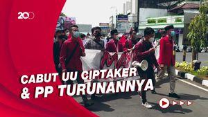 May Day, Mahasiswa Ciamis Demo di Kantor DPRD Tagih Serapan Tenaga Kerja