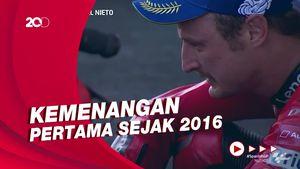 Tangis Miller Pecah Usai Juarai MotoGP Spanyol