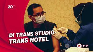 3 Ribu Pelaku Buparekraf di Bandung Jalani Vaksinasi COVID-19