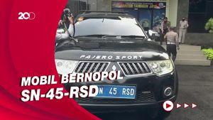 Pemobil Bernopol Nyeleneh Ditilang, Ngaku Jenderal Kekaisaran Sunda