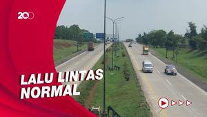 H-1 Larangan Mudik, 8.514 Kendaraan Tinggalkan Jakarta Via GT Cikampek