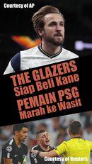 The Glazers Siap Bajak Kane, Pemain PSG Marah ke Wasit
