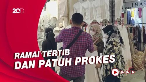 Suasana Thamrin City Diserbu Pembeli Jelang Idul Fitri
