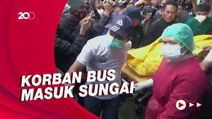 3 Korban Kecelakaan Bus Masuk Sungai di Mamasa Ditemukan
