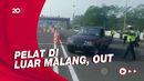 Hari Pertama Larangan Mudik, 16 Kendaraan Diputarbalikkan di Malang!