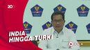 5 Negara Penyumbang WNA Positif COVID-19 Terbanyak di Indonesia