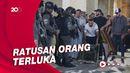 Detik-detik Bentrokan Polisi Israel-Warga Palestina di Masjid Al-Aqsa