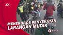 Pengendara Tabrak Petugas Penyekatan di Klaten