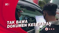 21 Kendaraan Diputarbalikkan di Pos Penyekatan Subang-Bandung
