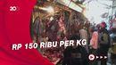 Jelang Lebaran Harga Daging Sapi-Ayam di Purwakarta Meroket