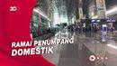 Situasi Terminal 3 Bandara Soetta Sehari Jelang Idulfitri