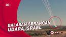 Rentetan Roket Hamas Serang Israel