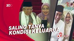 Jokowi-Maruf Silaturahmi Lebaran Lewat Video Call