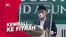 Salat Idulfitri di Masjid Sunda Kelapa, Eks Ketua MK Jadi Khatib