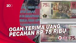 Viral Pedagang Sate Tak Mau Dibayar Pakai Uang Baru Rp 75 Ribu