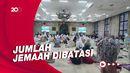 Jelang Salat Idulfitri di Masjid Sunda Kelapa, Saf Dibuat Berjarak