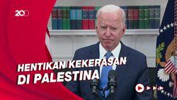 Biden Telepon Netanyahu Minta Kekerasan Dihentikan