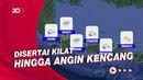 Sejumlah Wilayah di Indonesia Masih Berpotensi Hujan Lebat